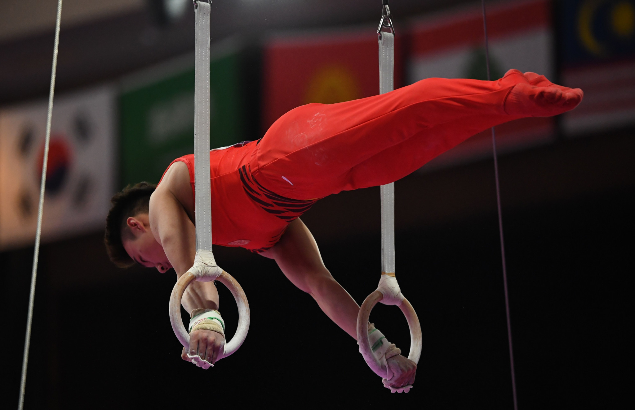 Five gold medals were won today in artistic gymnastics, shared between China, South Korea and Chinese Taipei ©Getty Images