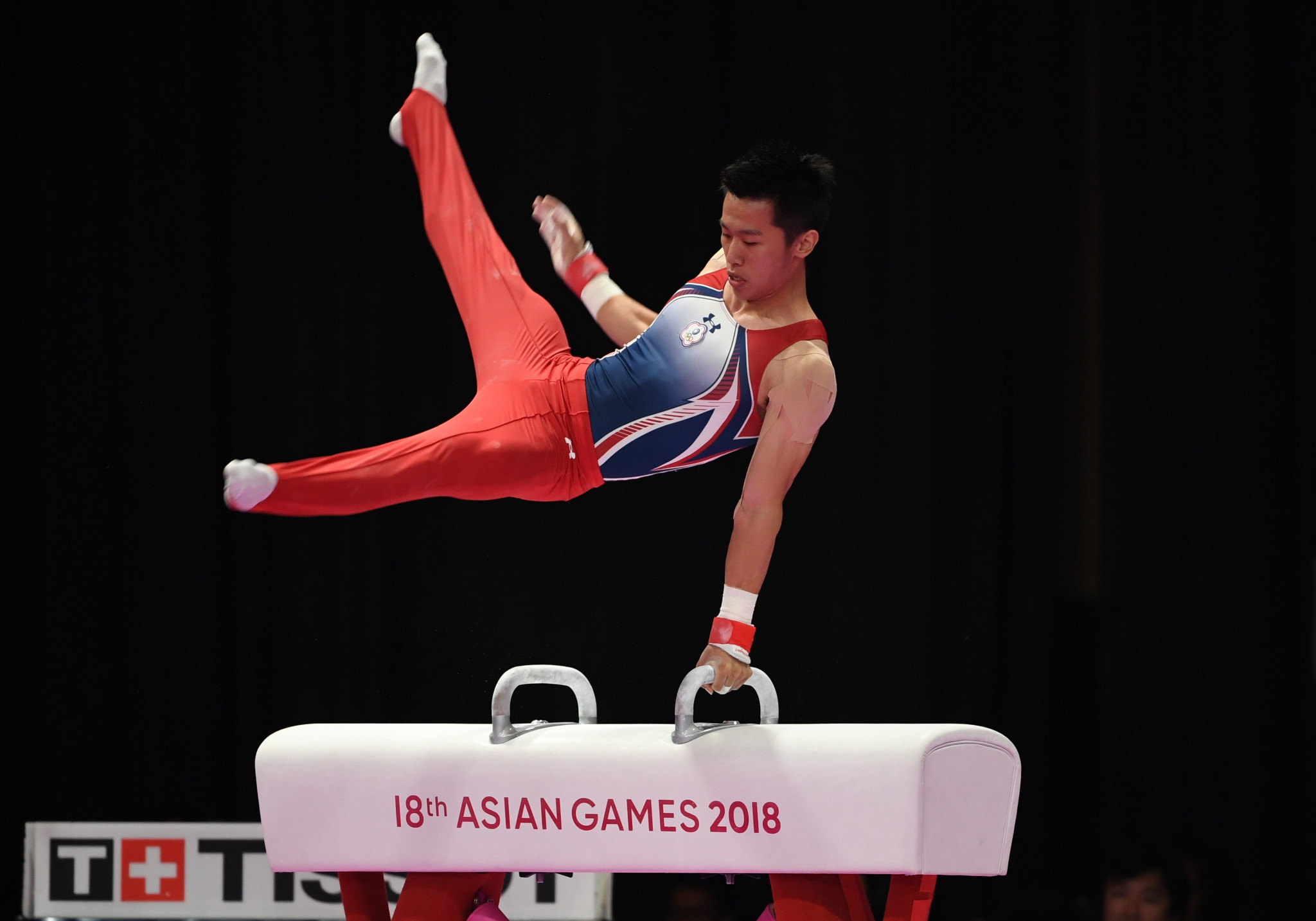 Chih Kai Lee won Chinese Taipei's first artistic gymnastics gold in Asian Games history ©Getty Images