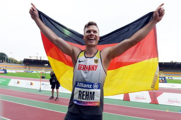Double Paralympic long jump champion Rehm aims for third gold at Tokyo 2020