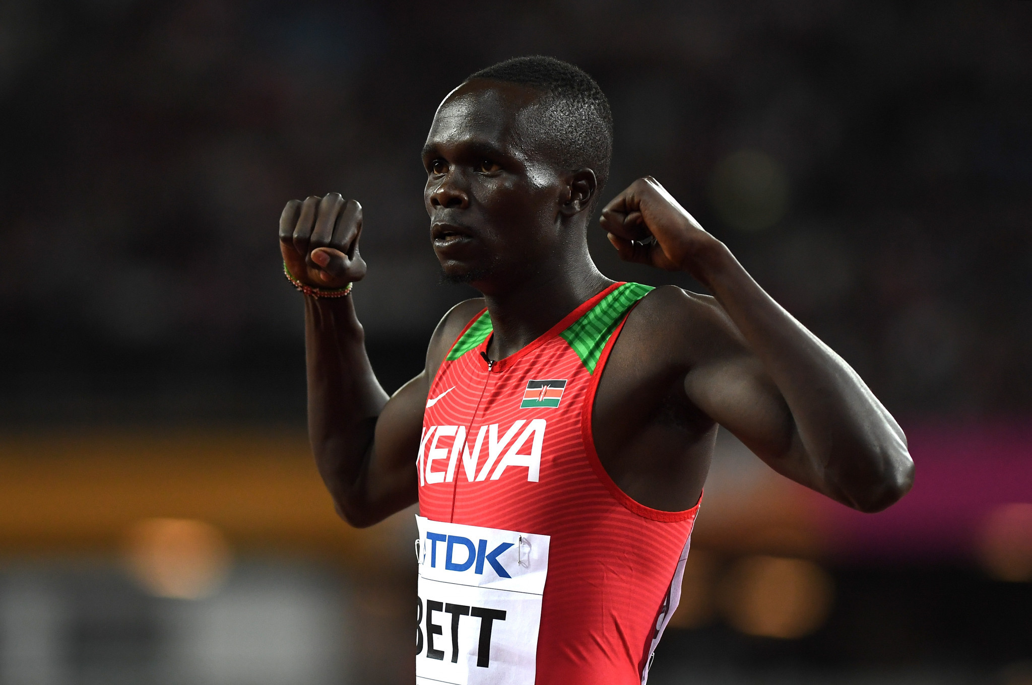 Kipyegon Bett has tested positive for Erythropoietin ©Getty Images