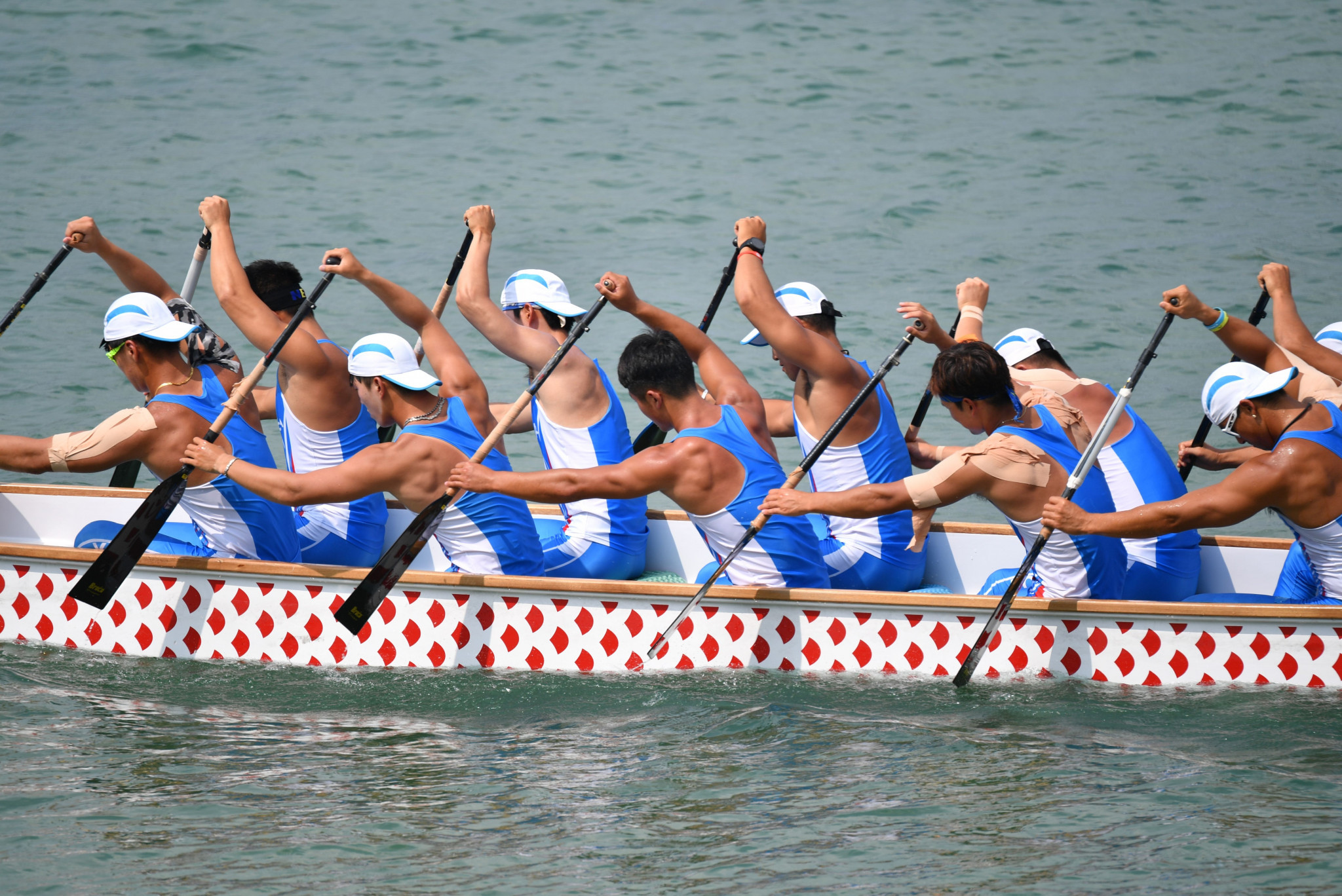 The unified Korean team increased their medal tally to three by taking bronze in the men's 1,000 metres dragon boat race ©Getty Images
