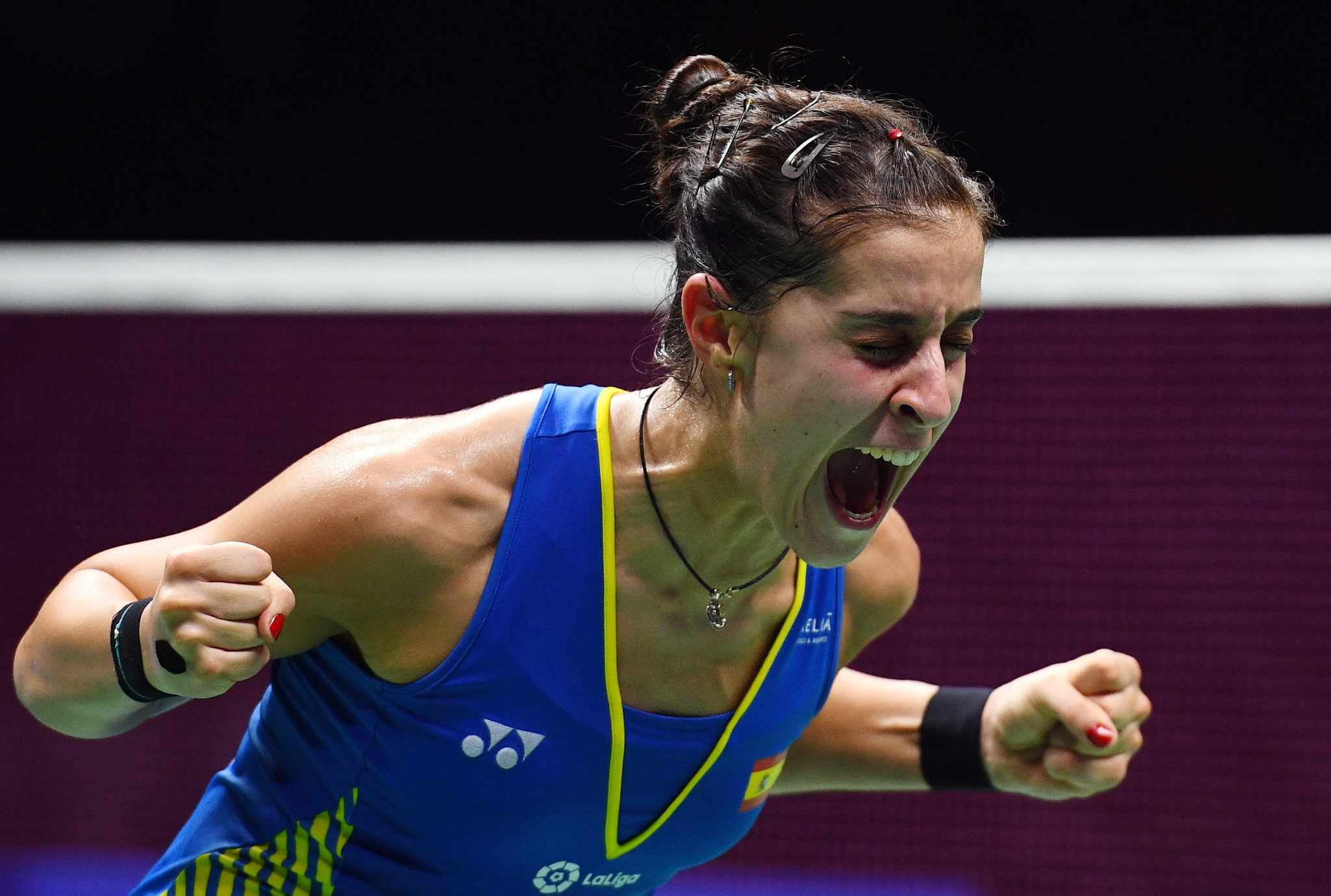 Marin the star attraction at BWF Spain Masters