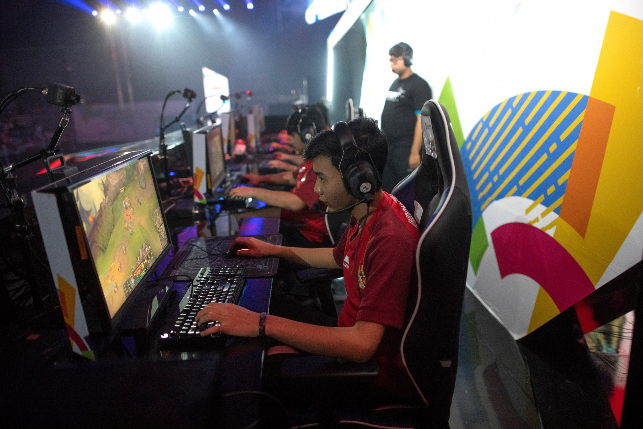 The appearance of esports as a demonstration event at Jakarta Palembang 2018 is seen as an important step forward as the sport looks one day to join the Olympic programme ©GettyImages