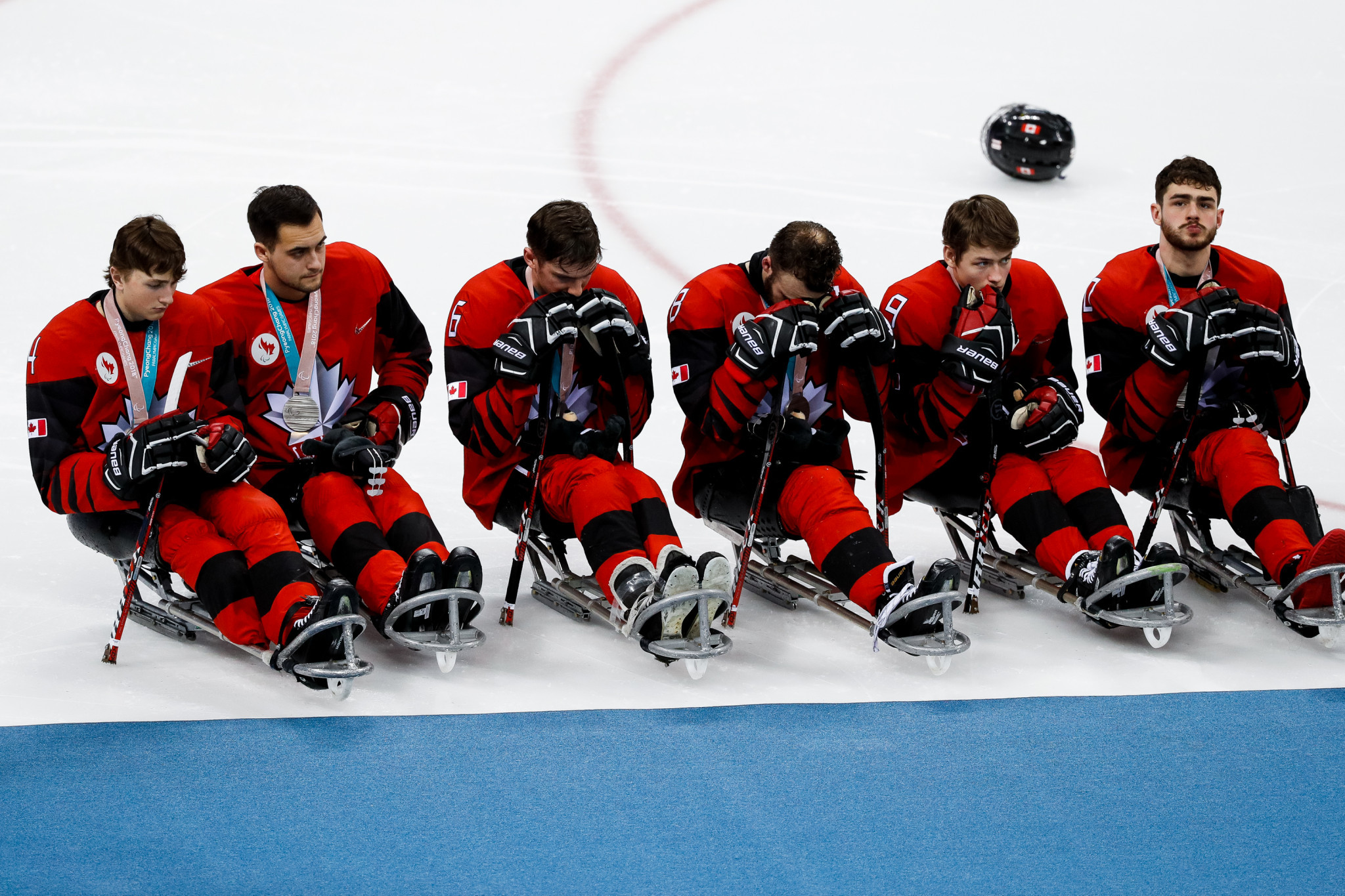 Nine of the team which claimed silver at the Pyeongchang 2018 Winter Paralympics will feature at the camp ©Getty Images