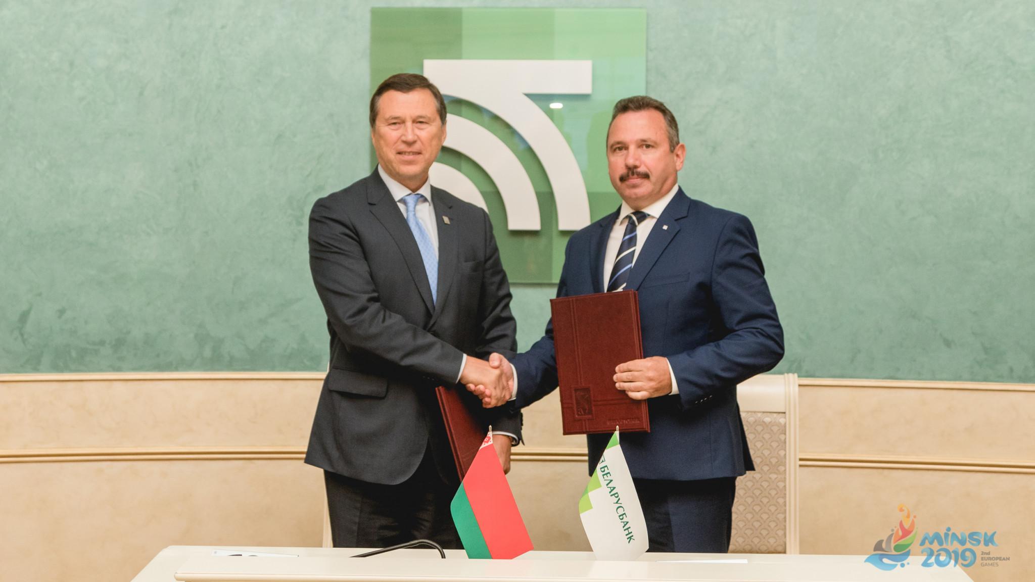 Minsk 2019 announce partnership with Belarusbank