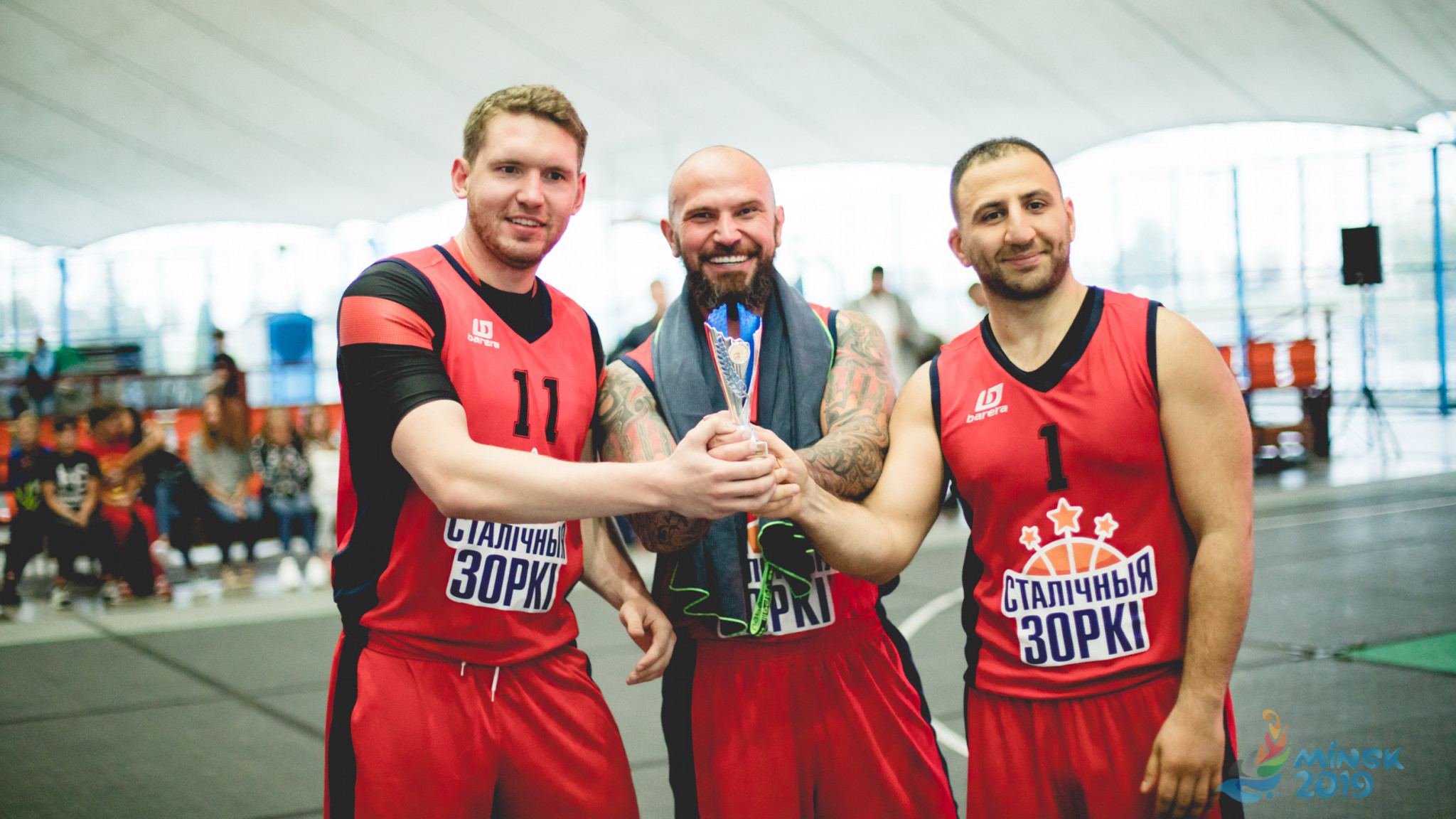"""Minsk 2019 hold 3x3 basketball tournament as """"Bright Team"""" events continue"""