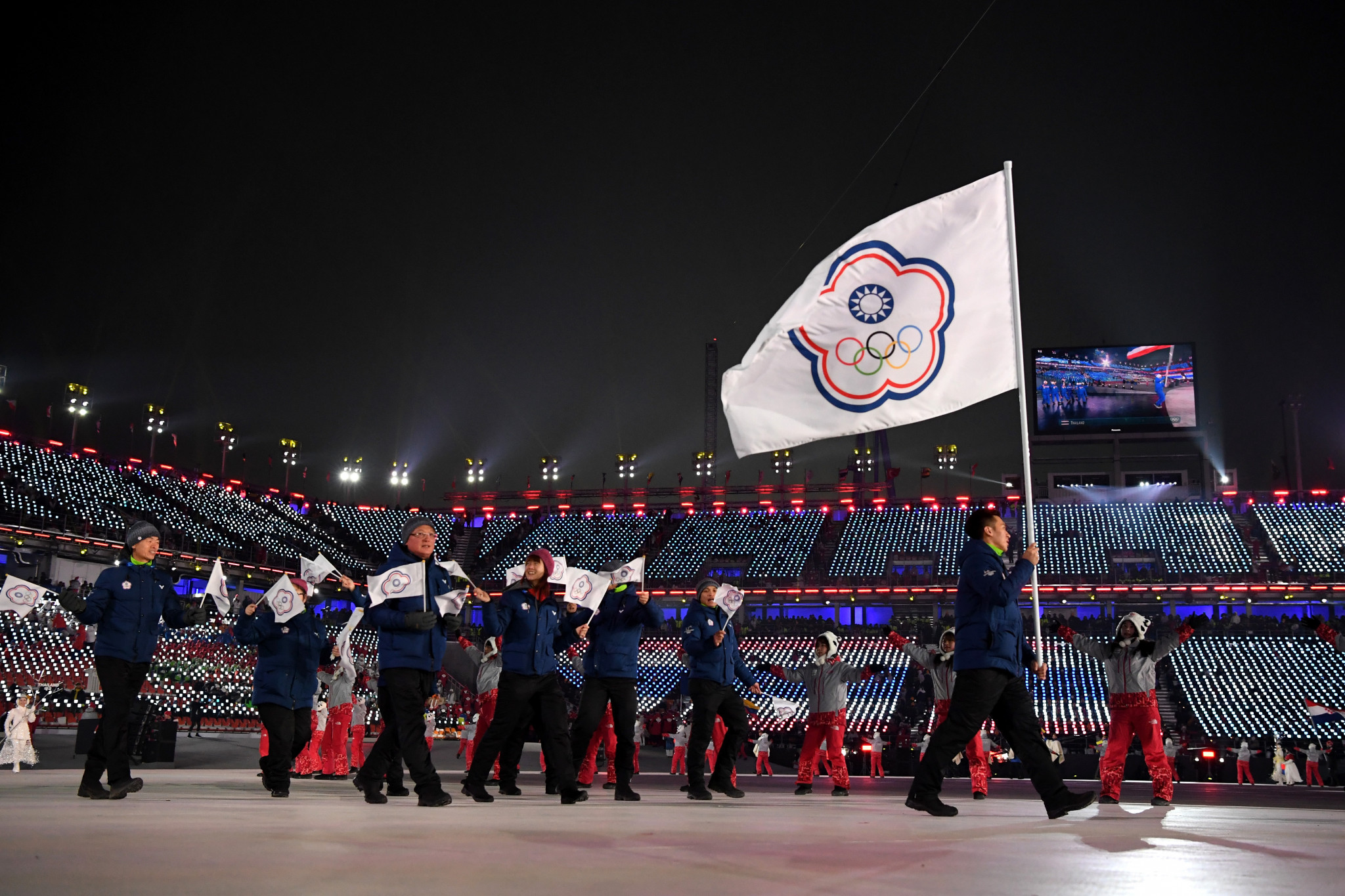 """Taiwanese campaigners have submitted more than 520,000 signatures calling for a referendum on whether their national team should compete as """"Taiwan"""" and not """"Chinese Taipei"""" at the Tokyo 2020 Olympic Games ©Getty Images"""