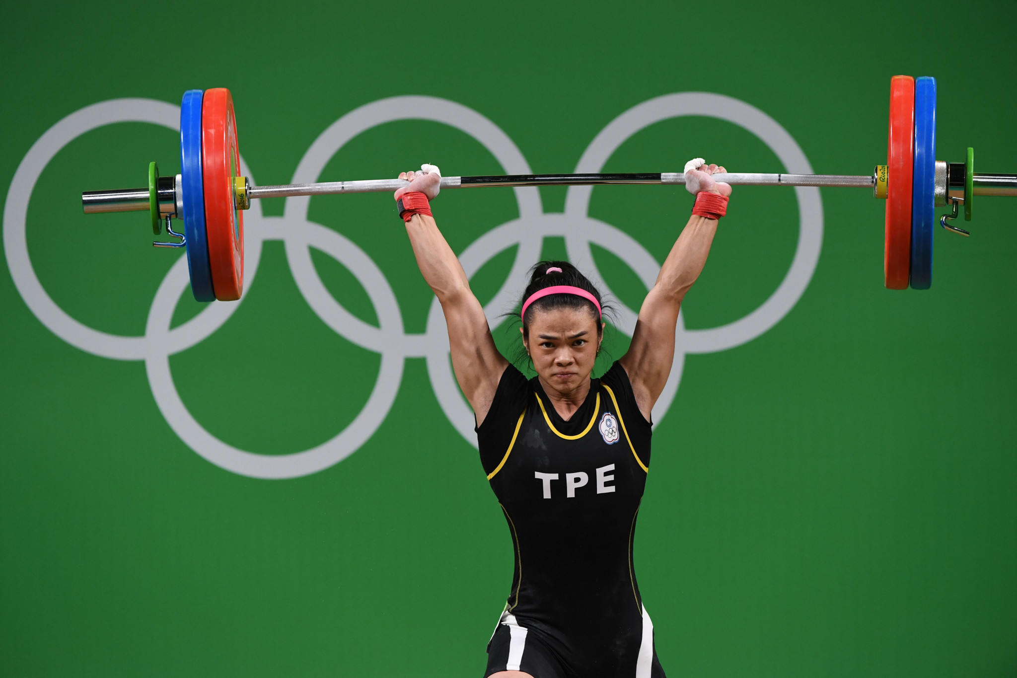 Weightlifter Hsu Shu-ching was Chinese Taipei's sole gold medallist at the Rio 2016 Olympic Games, winning the women's 53 kilograms event ©Getty Images