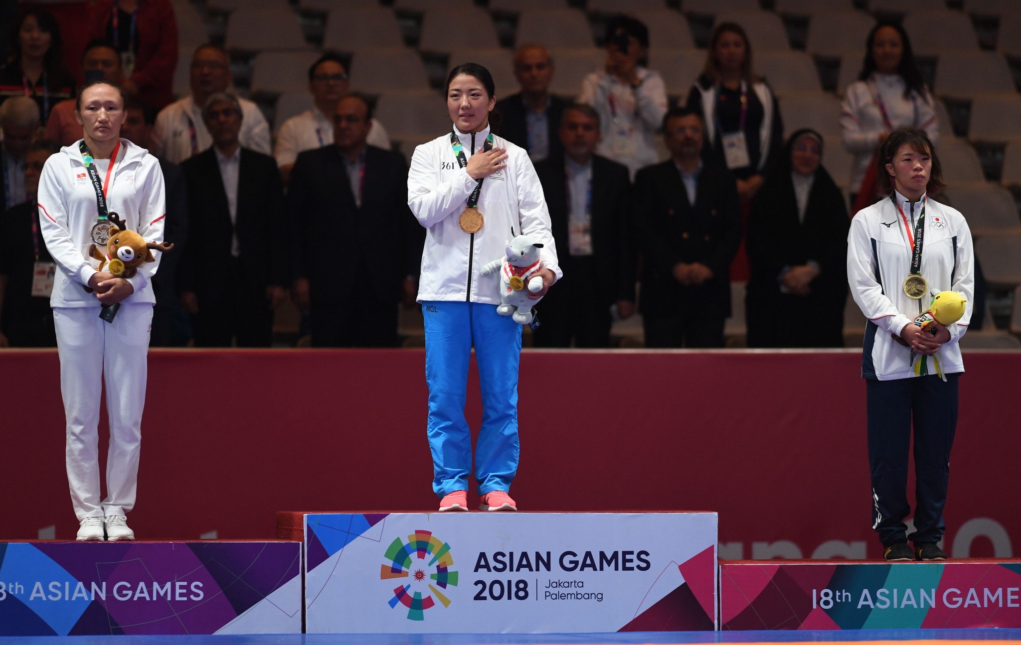 Reigning world champion stripped of Asian Games wrestling gold medal for doping