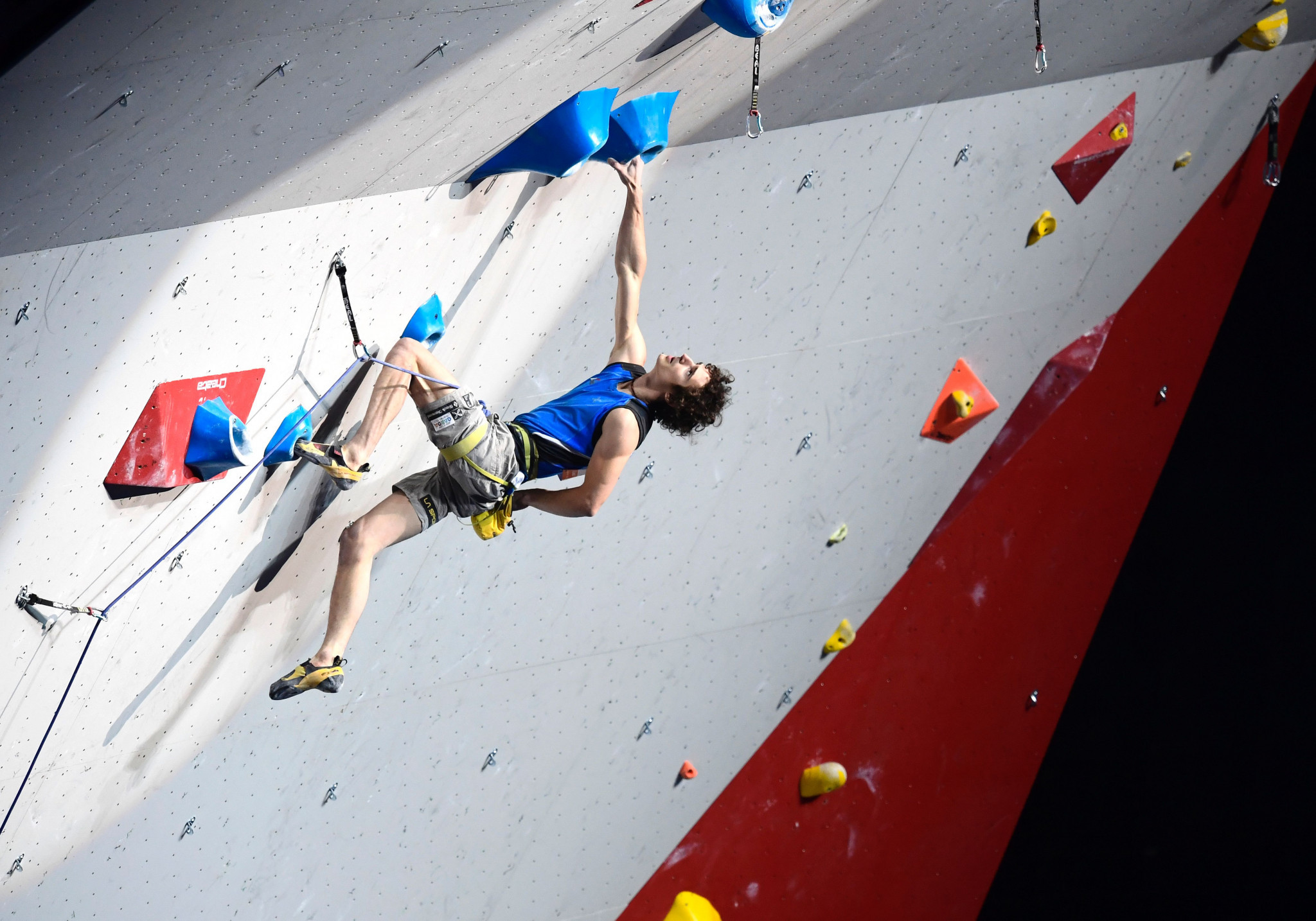 Czech Republic's Adam Ondra will seek to become the first athlete in recent IFSC history to win three consecutive lead world titles when he competes in Innsbruck ©Getty Images