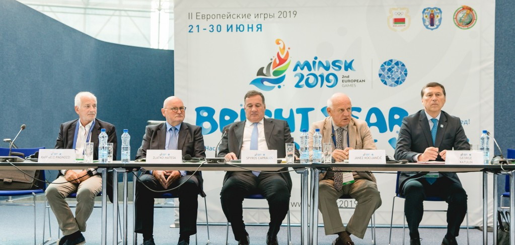 Capralos urges Minsk 2019 Organising Committee to speed up recruitment