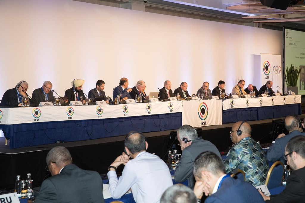 ISSF President Olegario Vázquez Raña accused Luciano Rossi of orchestrating a plan to hold an Extraordinary General Assembly to lobby the membership ©ISSF