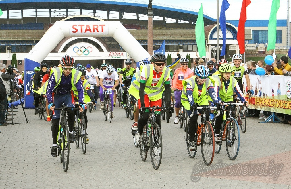 Cross-border cycling event dedicated to Minsk 2019 European Games