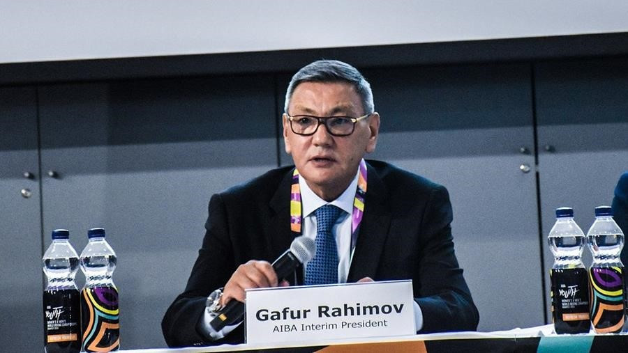 """Interim AIBA head Gafur Rahkimov has urged the body's members """"not to be influenced by rumours"""" after a letter from the IOC was leaked suggesting the Uzbek should not stand for President ©AIBA"""