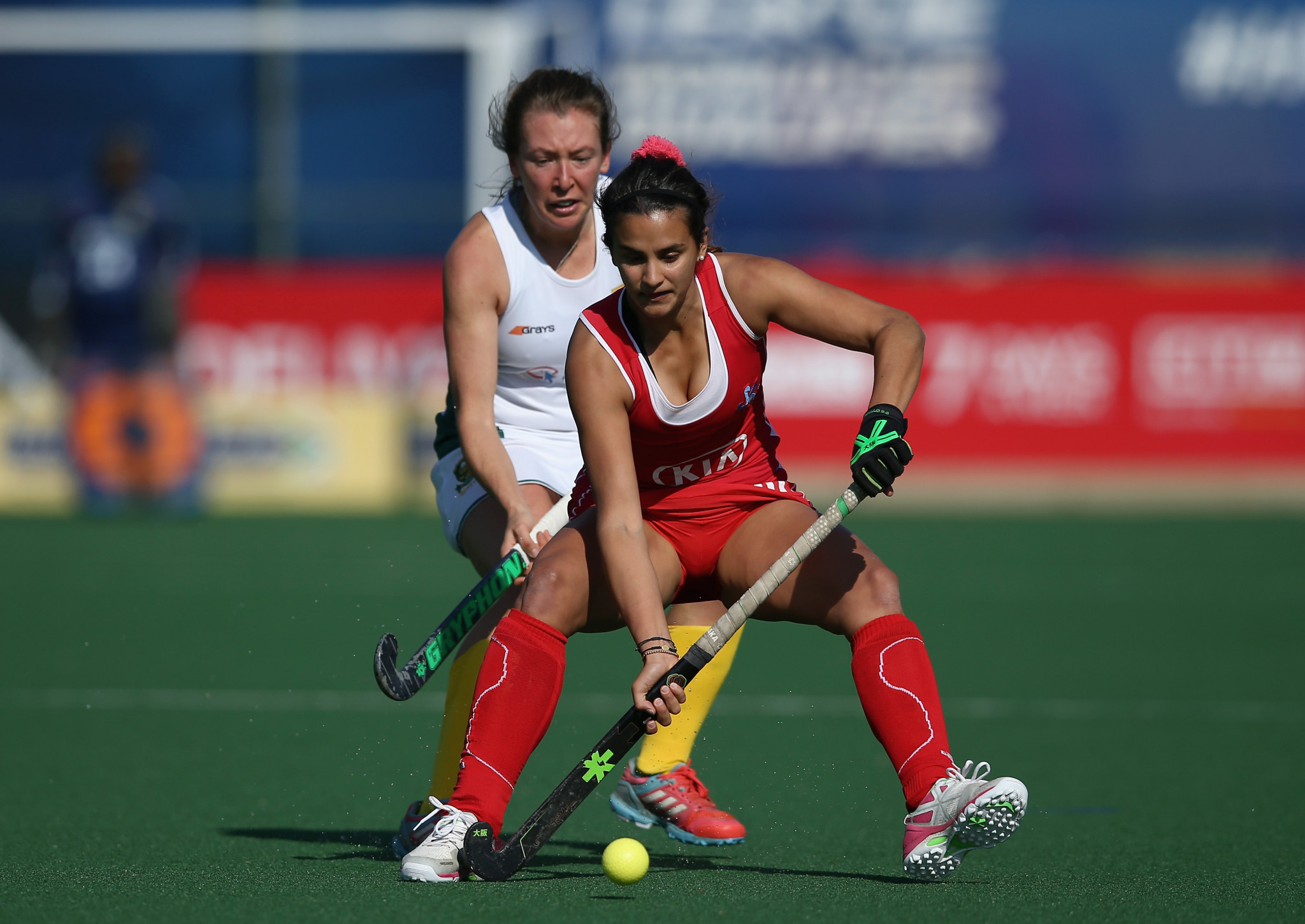 Chile's women will fancy their chances on home soil ©FIH