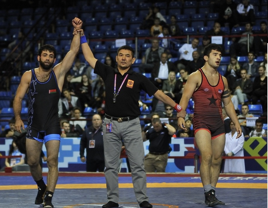 Freestyle wrestling test event held as Minsk 2019 preparations continue