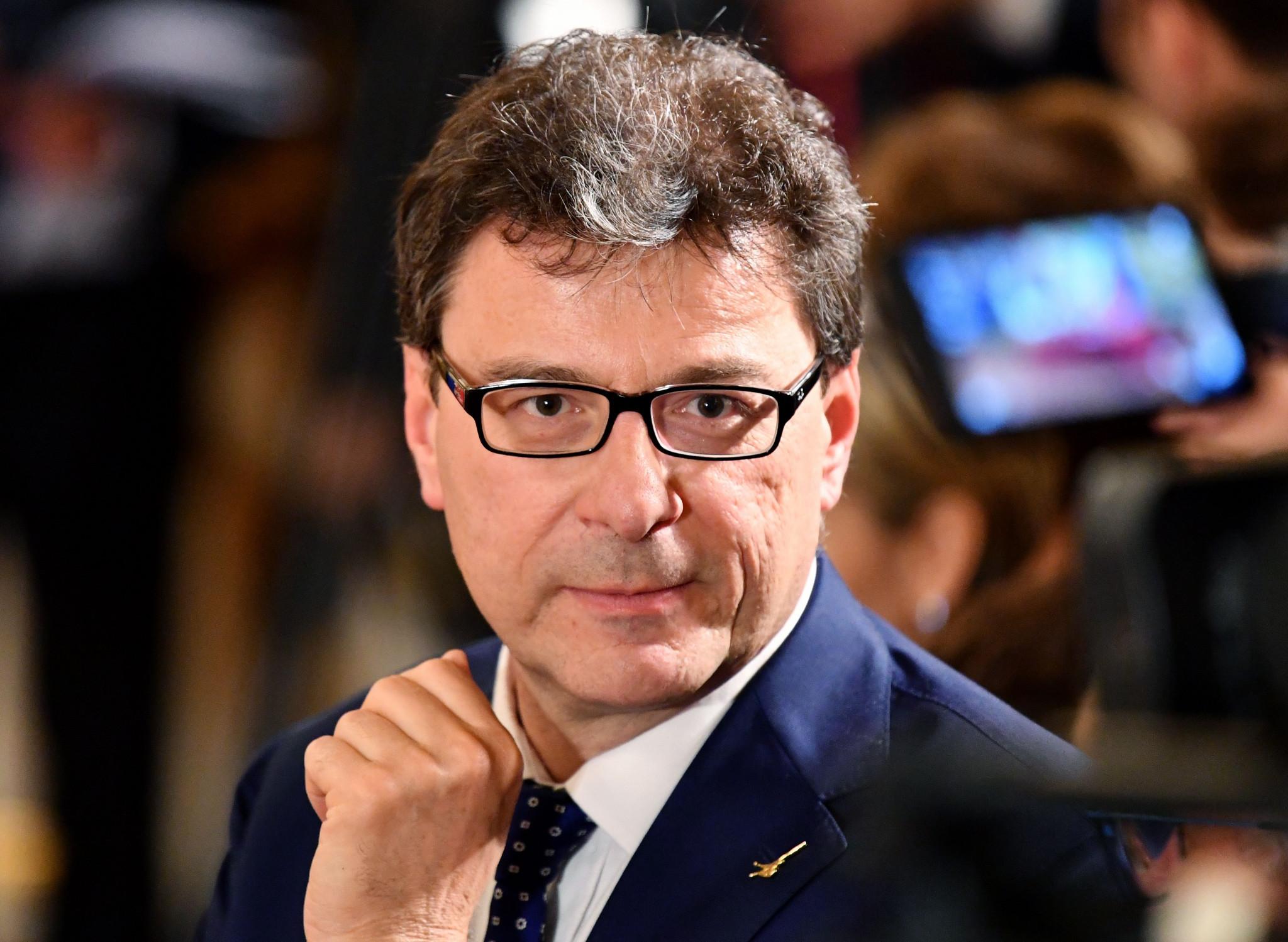 Giancarlo Giorgetti said the three-way bid was dead ©Getty Images