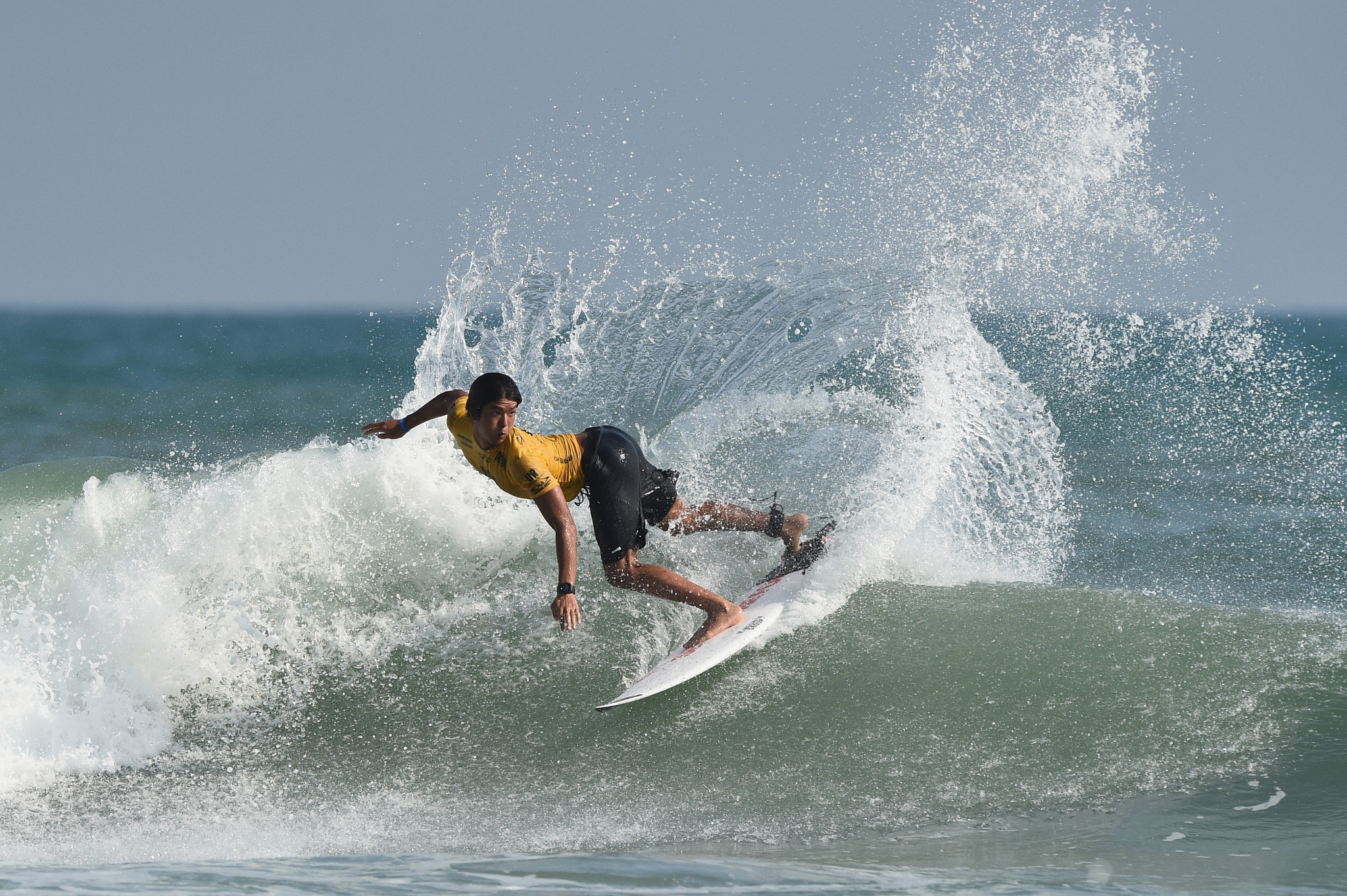 Kanoa Igarashi guaranteed his country its first individual medal at the World Surfing Games ©Getty Images