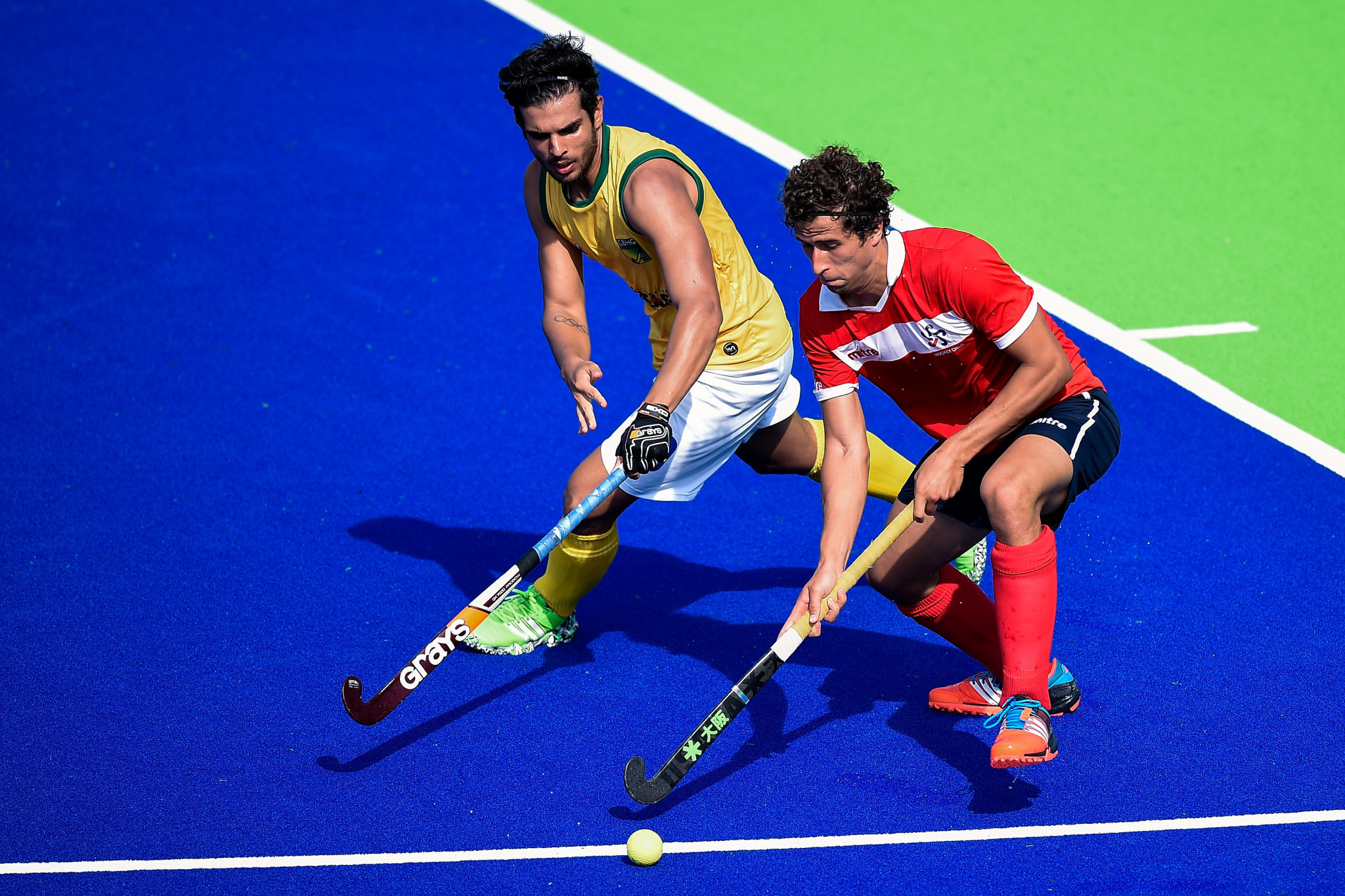 Chile and Brazil both won their opening games at South America's first Hockey Series Open