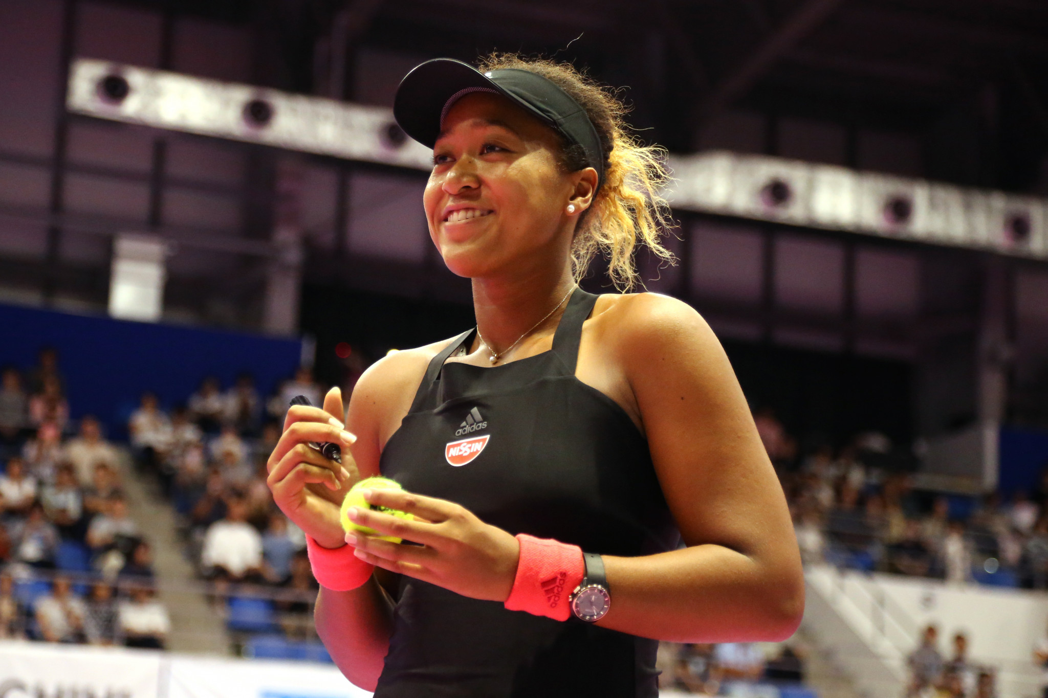 Japan's Naomi Osaka beat the Czech Republic's Dominika Cibulková to progress into the quarter-finals of the Pan Pacific Open in Tokyo ©Getty Images
