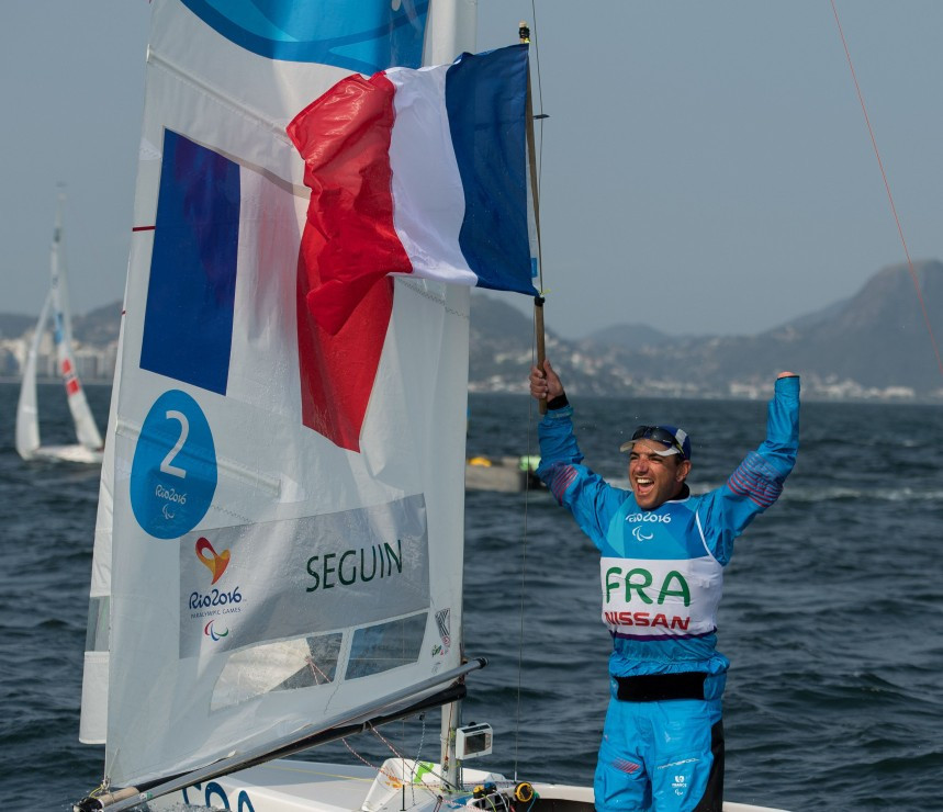 Seguin and Kroger tied for 2.4 Norlin lead Para World Sailing Championships