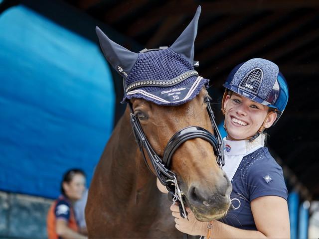Van der Horst retains Para dressage title at FEI World Equestrian Games