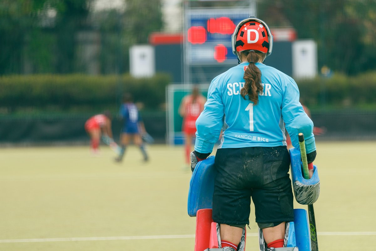 The second day of the FIH Hockey Open Series in Santiago saw a number of high-scoring games ©FIH