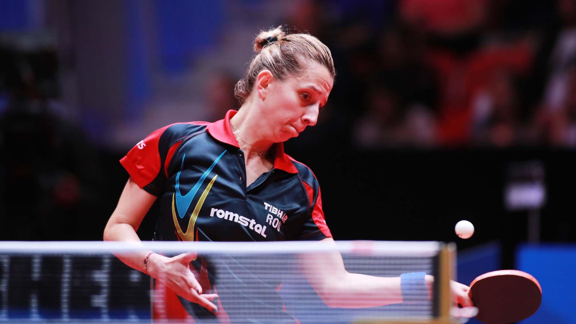 Pesotska stuns third seed Samara at European Table Tennis Championships