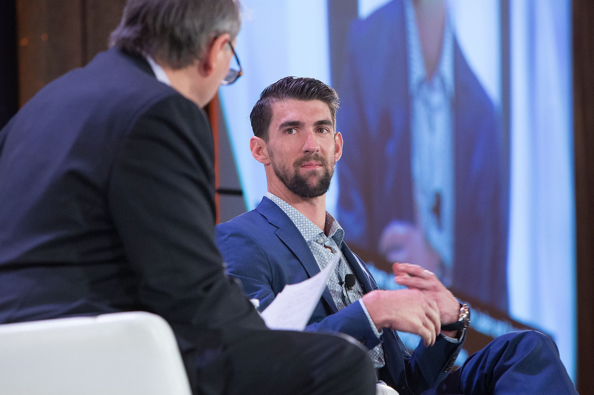 America's 23-time Olympic gold medallist Michael Phelps was among several high-profile athletes to condemn the decision by WADA to reinstate the Russian Anti-Doping Agency ©Getty Images