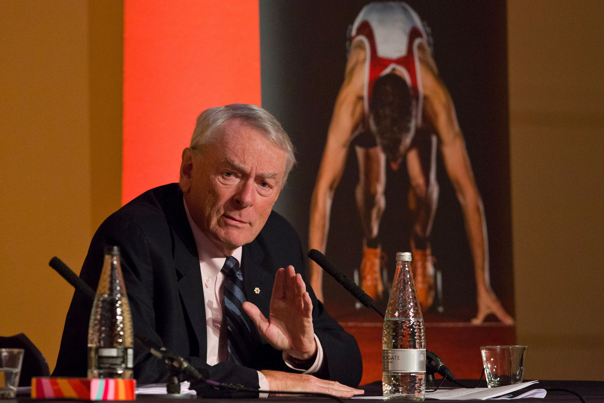Former WADA chairman Dick Pound has backed RUSADA's reinstatement, saying it will help catch more cheats ©Getty Images