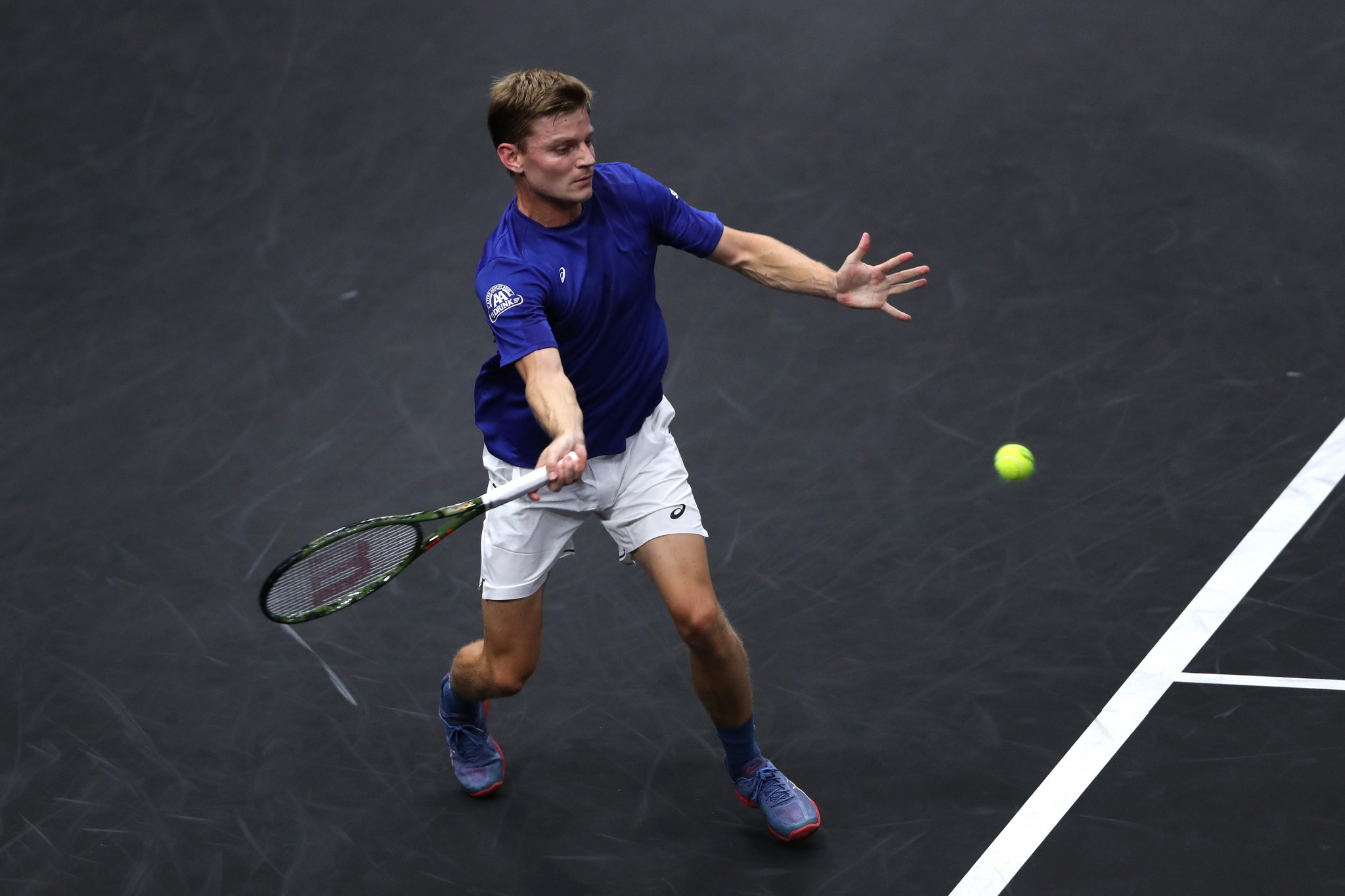 Team Europe establish lead on day one of 2018 Laver Cup despite doubles defeat for Federer and Djokovic