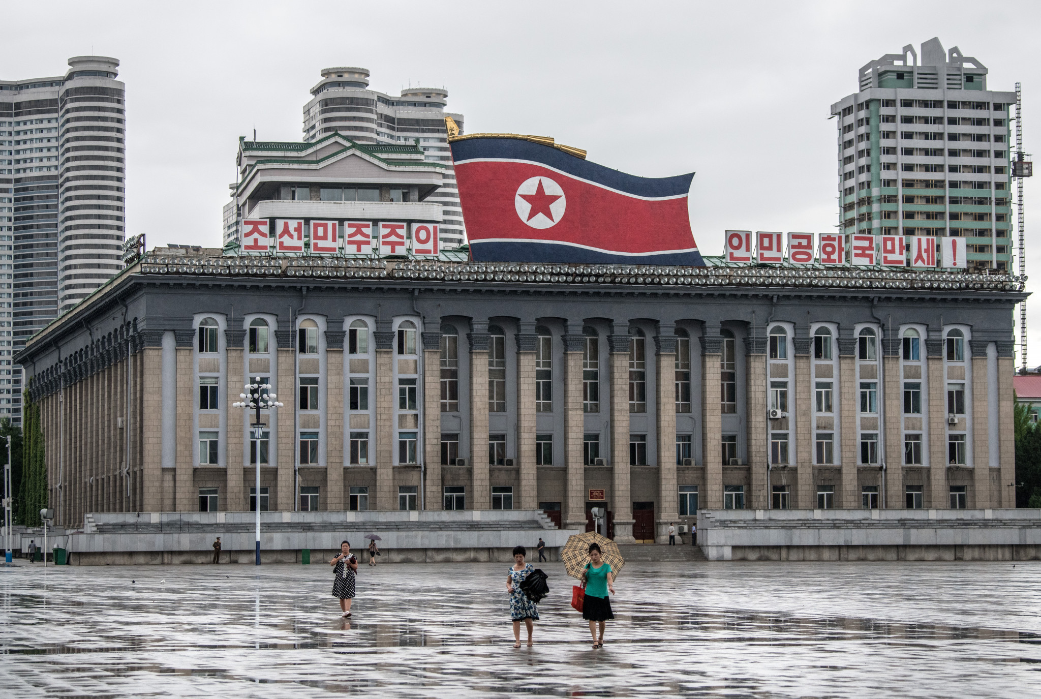 """North Korea's Anti-Doping Agency could be declared non-compliant should """"non-conformaties"""" not be addressed in the next four months ©Getty Images"""