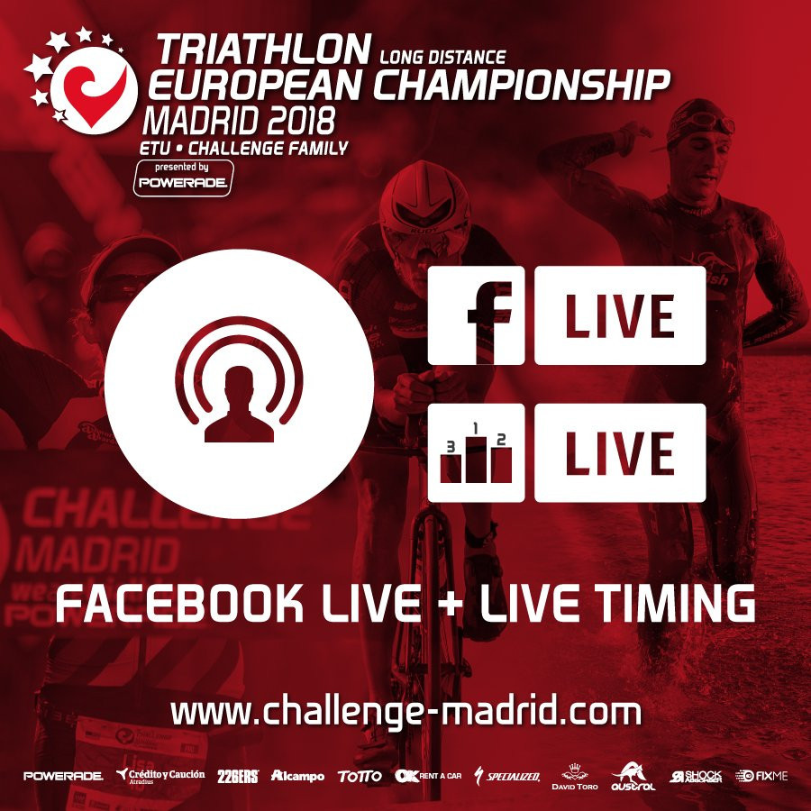 Madrid will host the Triathlon Long Distance European Championships ©ETU