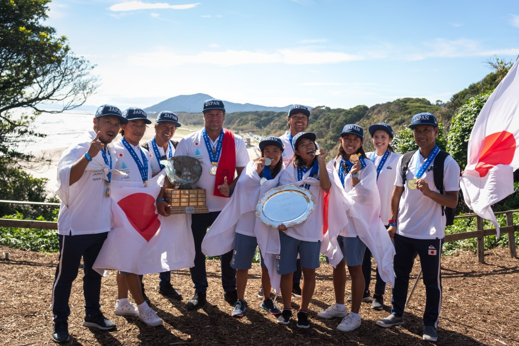 Japan claim team gold at World Surfing Games as sport's Olympic debut nears at Tokyo 2020