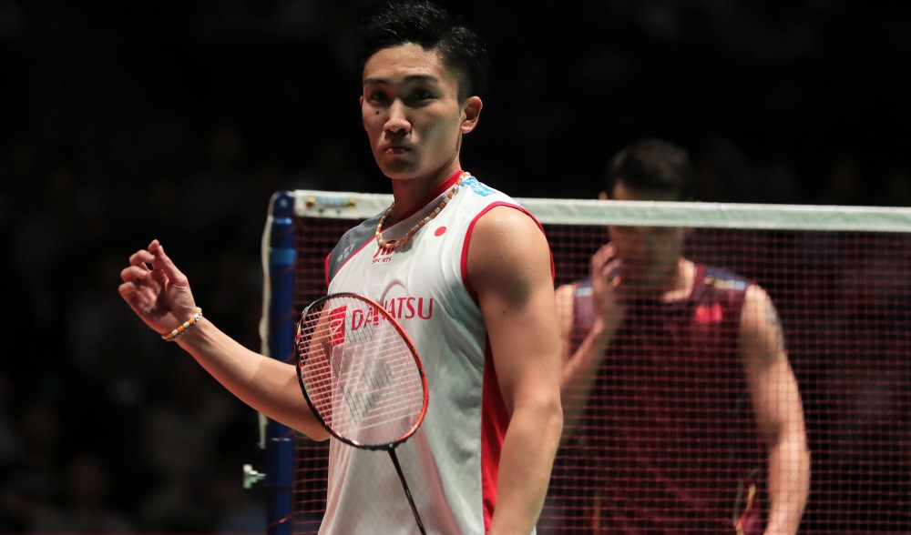 Kento Momota is eyeing a first Olympic gold medal at his home Games in Tokyo ©Getty Images