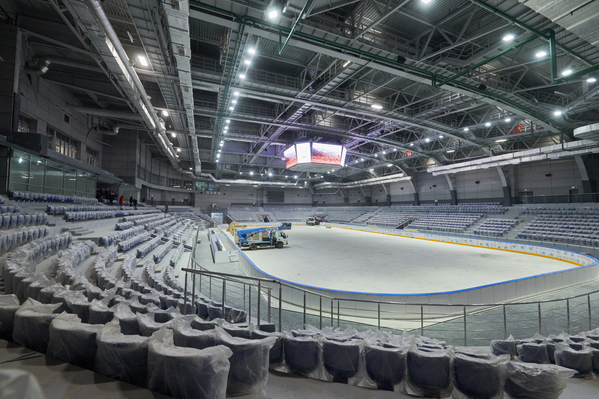 Ice hockey matches at the 2019 Winter Universiade are due to be held at the Crystal Ice Arena ©Krasnoyarsk 2019