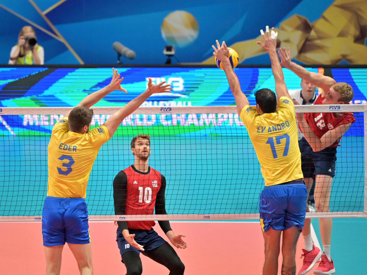 Brazil beat the United States to set up a clash with Serbia in the semi-finals ©Getty Images