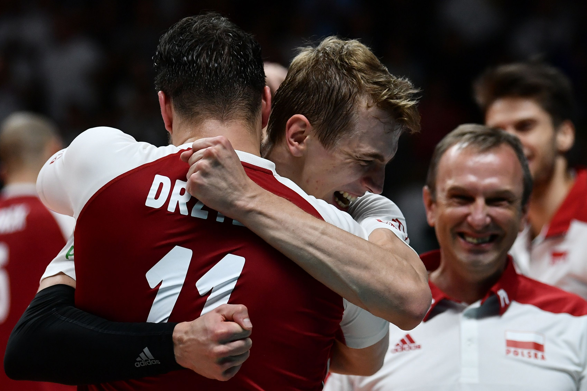 Poland beat Brazil in three sets to win the FIVB Men's Volleyball World Championships in Turin ©Getty Images