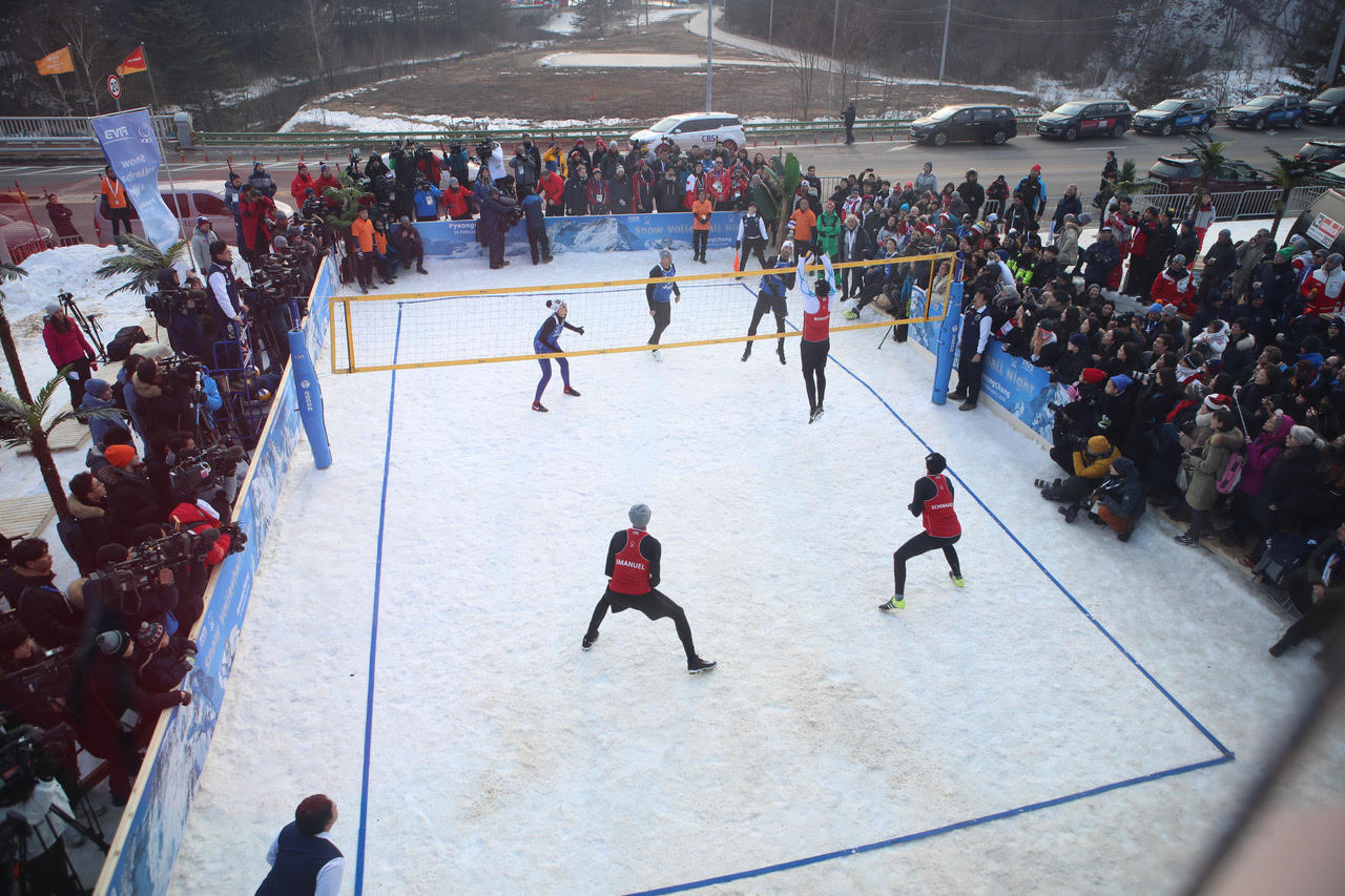 FIVB to showcase snow volleyball at Lausanne 2020