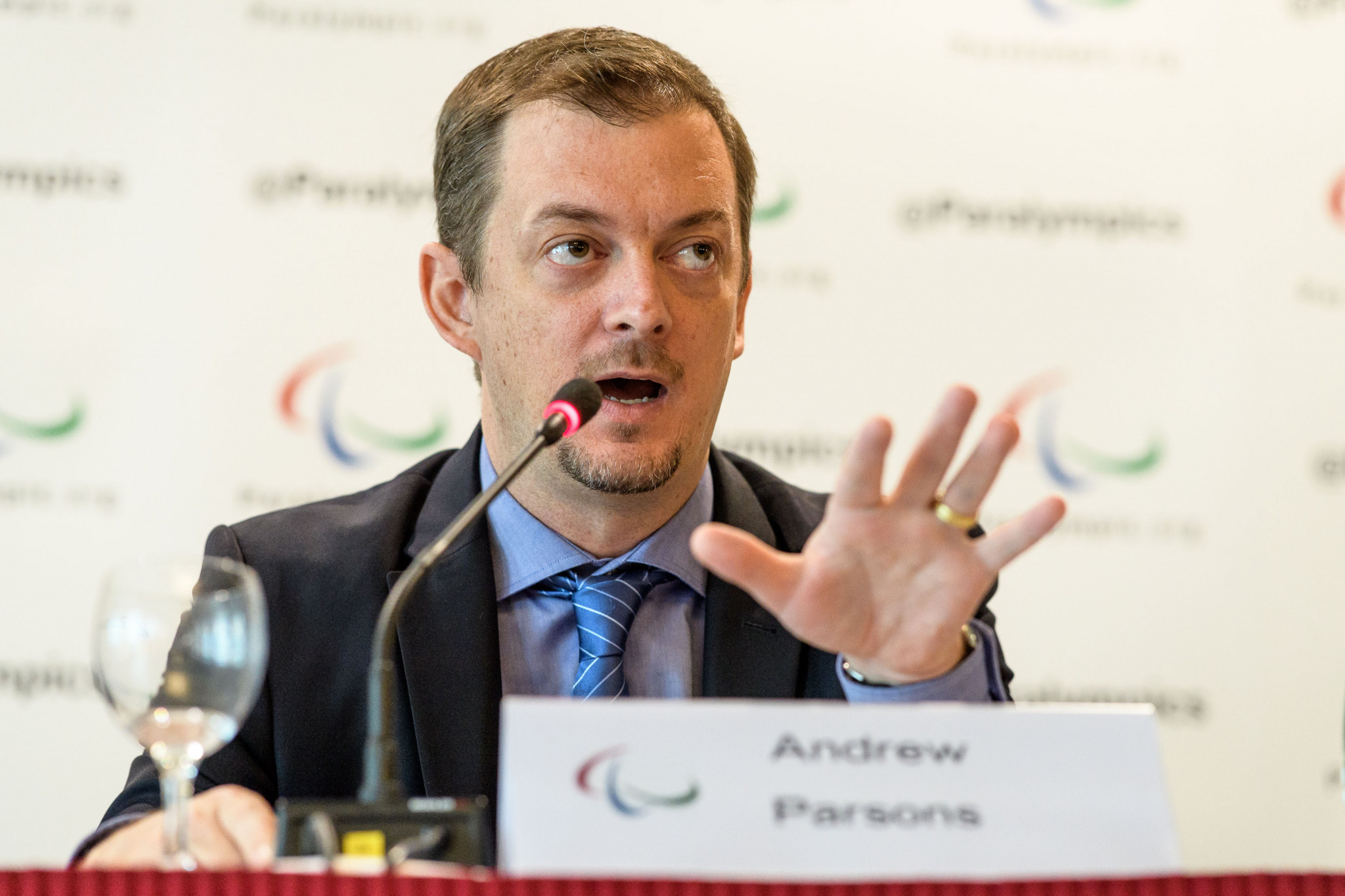 IPC President Andrew Parsons has backed the IOC's four-week window ©Getty Images