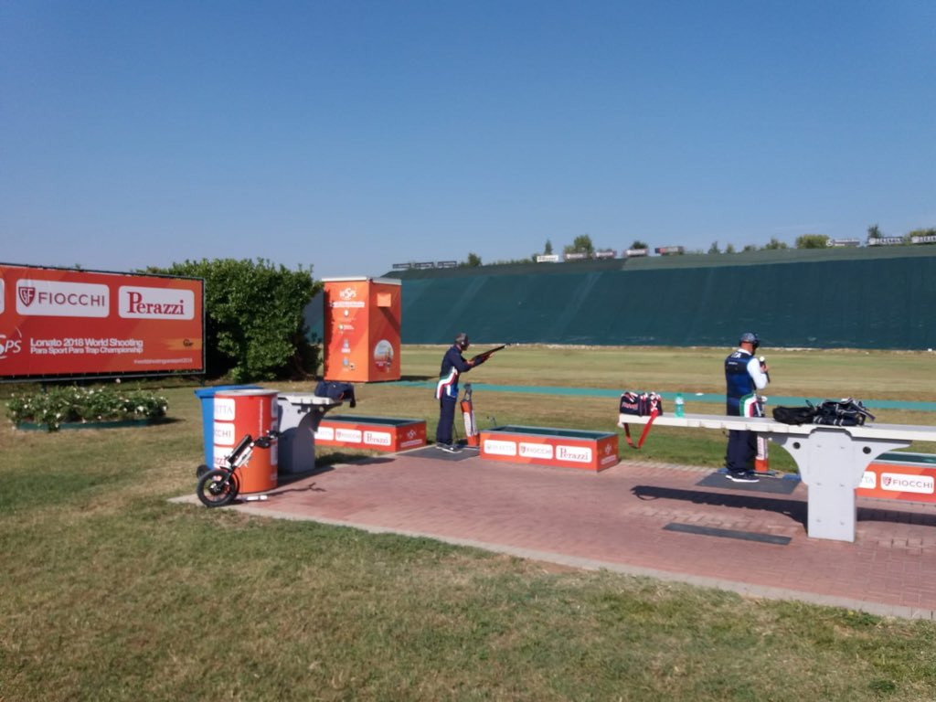 The inaugural Para Shooting trap World Championships began in Lonato in Italy ©Shooting Para Sport/Twitter