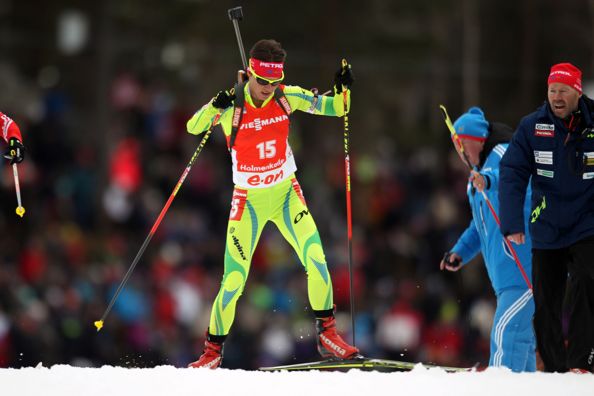 Teja Gregorin has been disqualified from the Vancouver 2010 Winter Olympics ©Getty Images