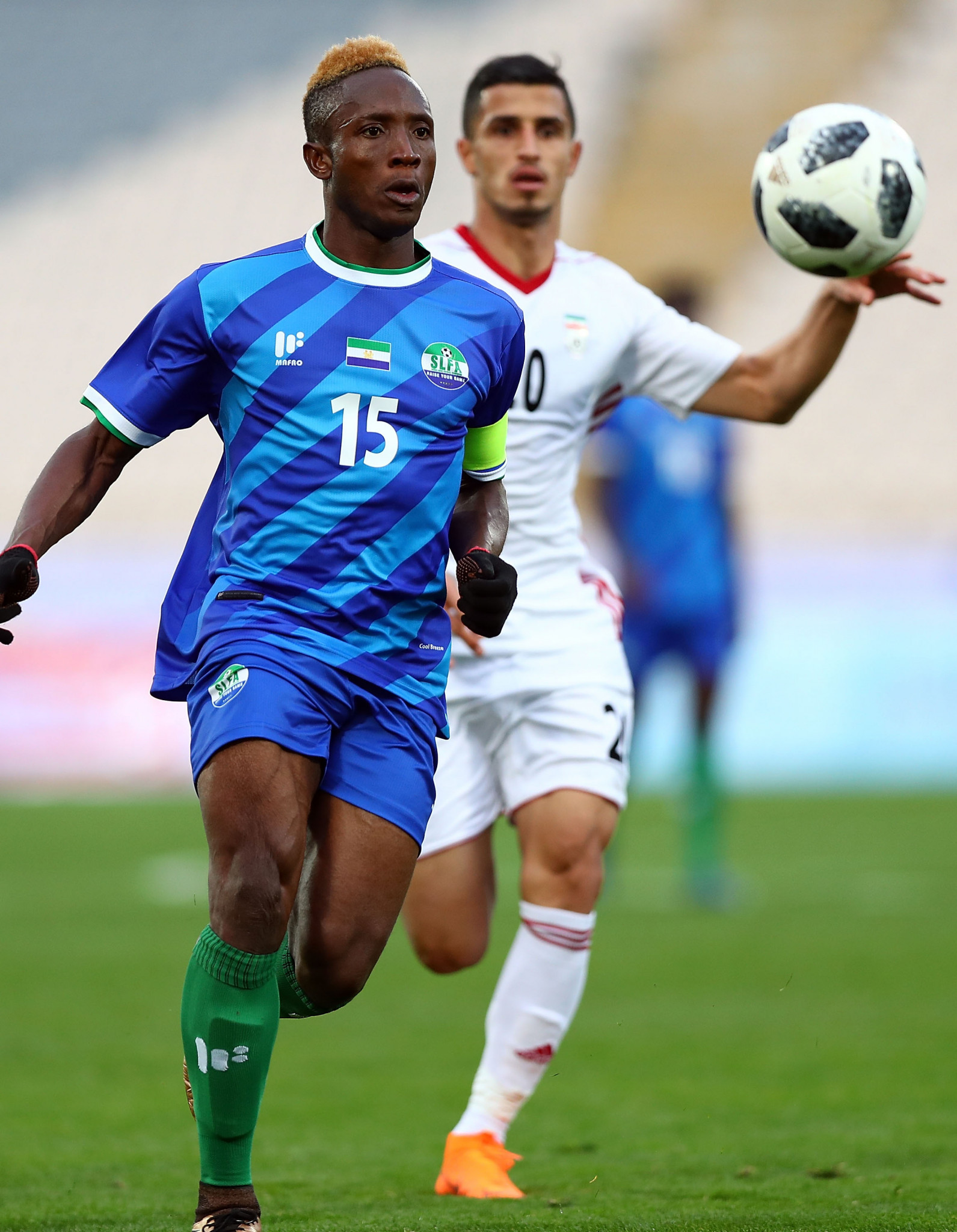 Sierra Leone have been suspended by FIFA ©Getty Images
