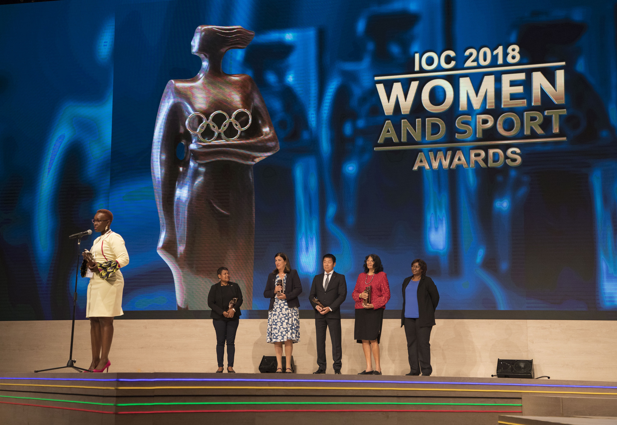 Kenya's Rachel Muthoga secured Africa's Women and Sport prize ©IOC