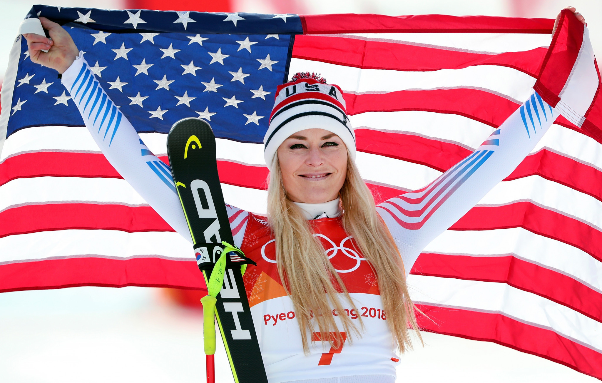 Skiing legend Vonn backs athlete protests but not on Olympic podium