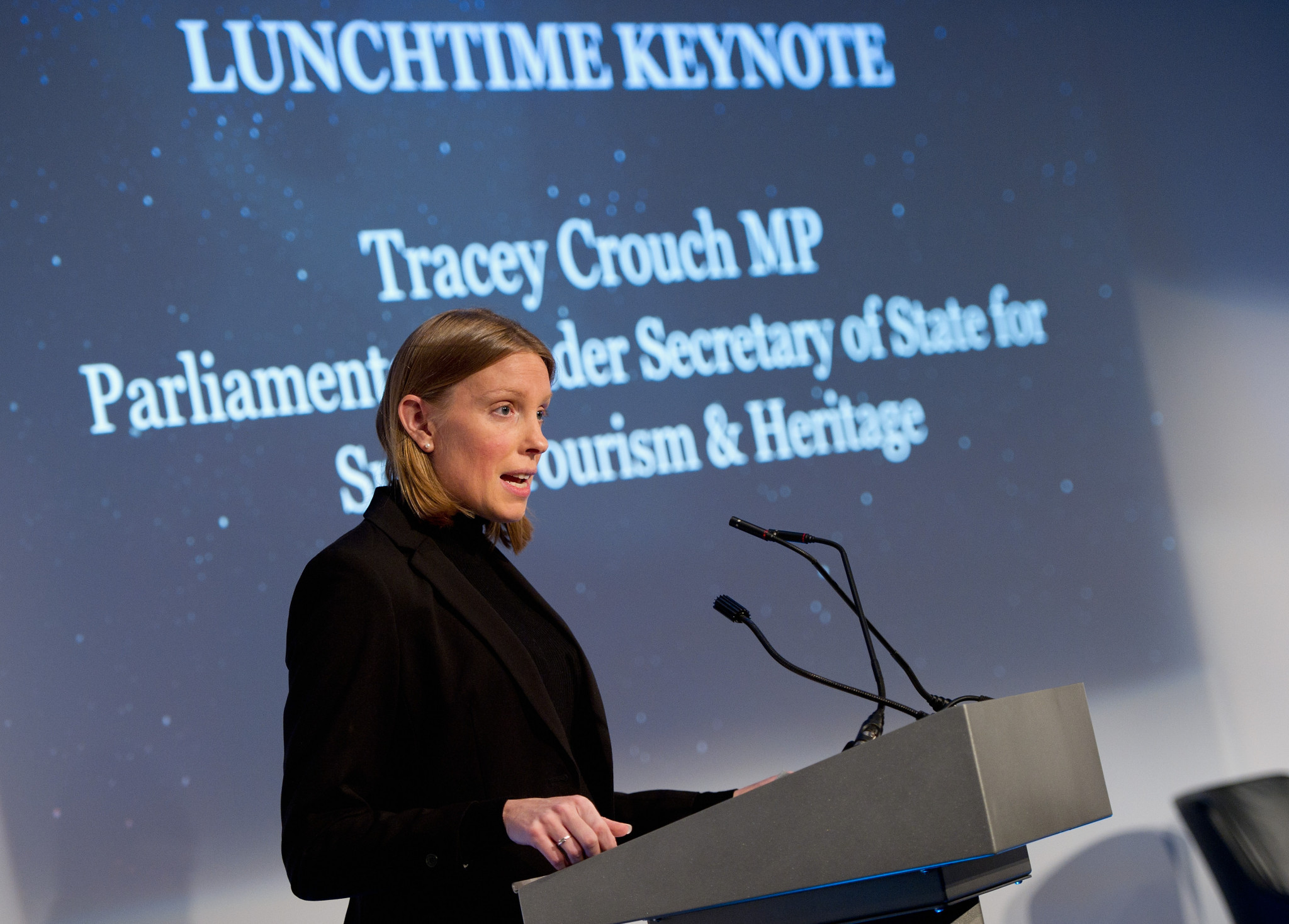British Sports Minister Tracey Crouch said the Aspiration Fund will give more sports the chance to inspire the nation and shine at Tokyo 2020 and beyond ©Getty Images