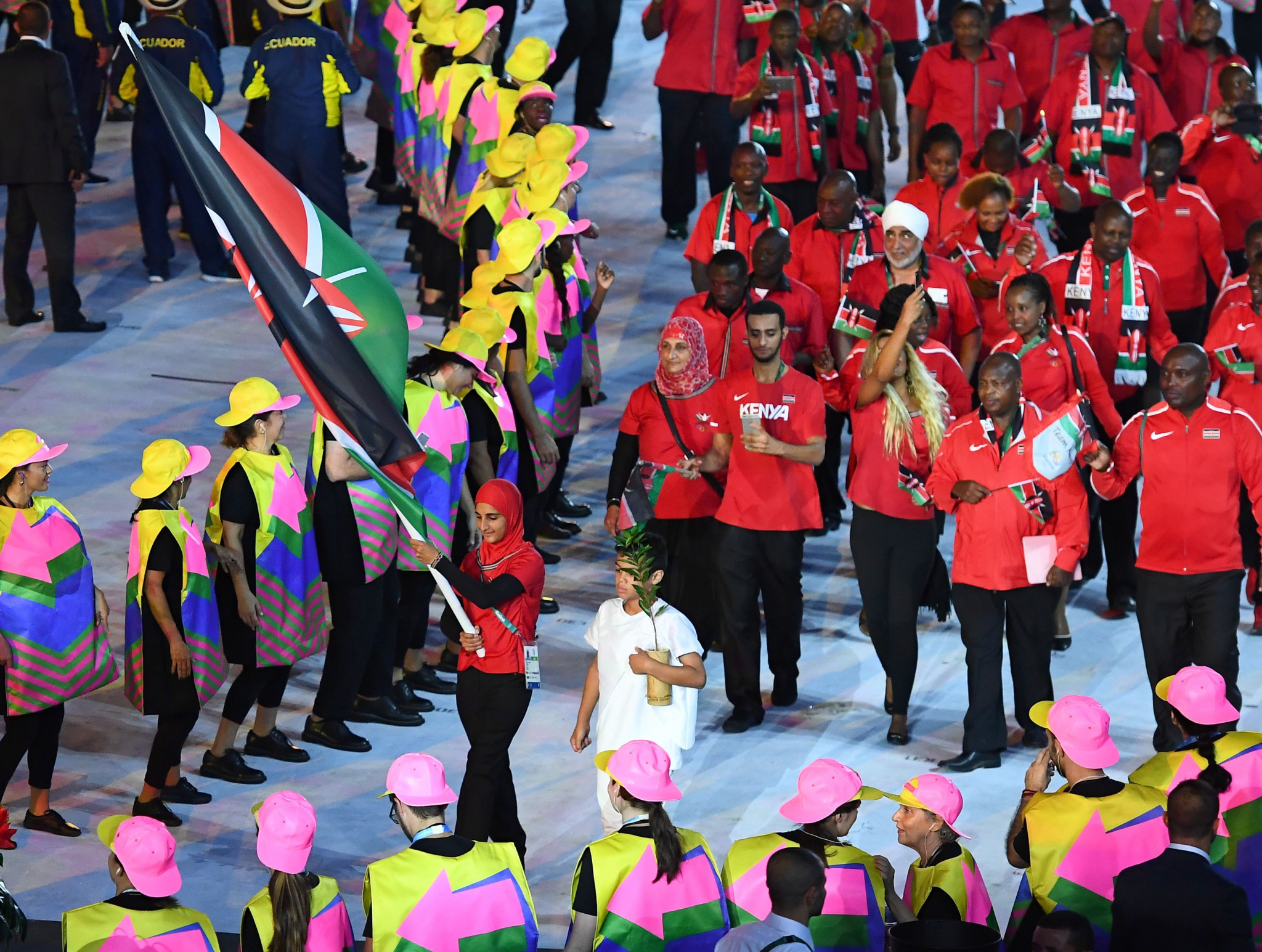 Kenya's participation at the Rio 2016 Olympic Games was marred with controversy ©Getty Images
