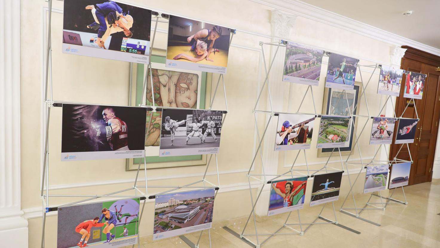 Photo exhibition opened to celebrate Belarus sport before Minsk 2019