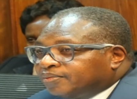 Former National Olympic Committee of Kenya official Stephen Kiptanui arap Soi has been arrested in connection with the Rio 2016 Olympic Games financial scandal ©DailyNation/YouTube