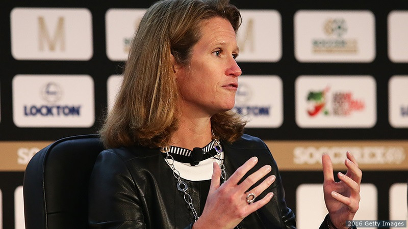 Kathy Carter has been named as LA 2028's new chief revenue officer ©Getty Images